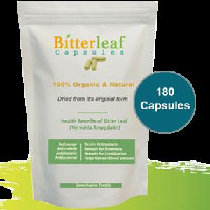 180- Bitter Leaf Capsules