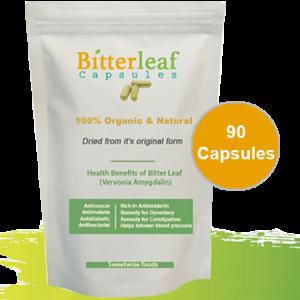 Bitter leaf capsules 90-Capsules