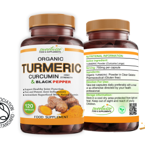 Turmeric Curcumin, Ginger and Black Pepper