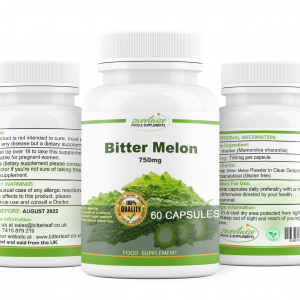Bitter Melon Capsules 120 Capsules High Strength Organic